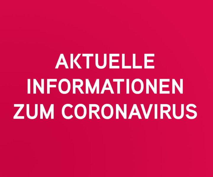 Aktuelle Informationen zum Coronavirus und vorbeugenden Maßnahmen im Bürgerheim Villingen-Schwenningen