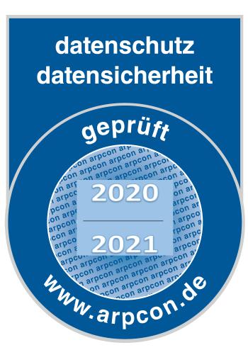 Datenschutz geprüft 2020/2021